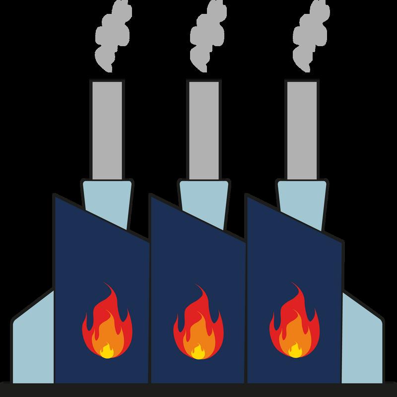 Forbrændingsanlæg og stålværker