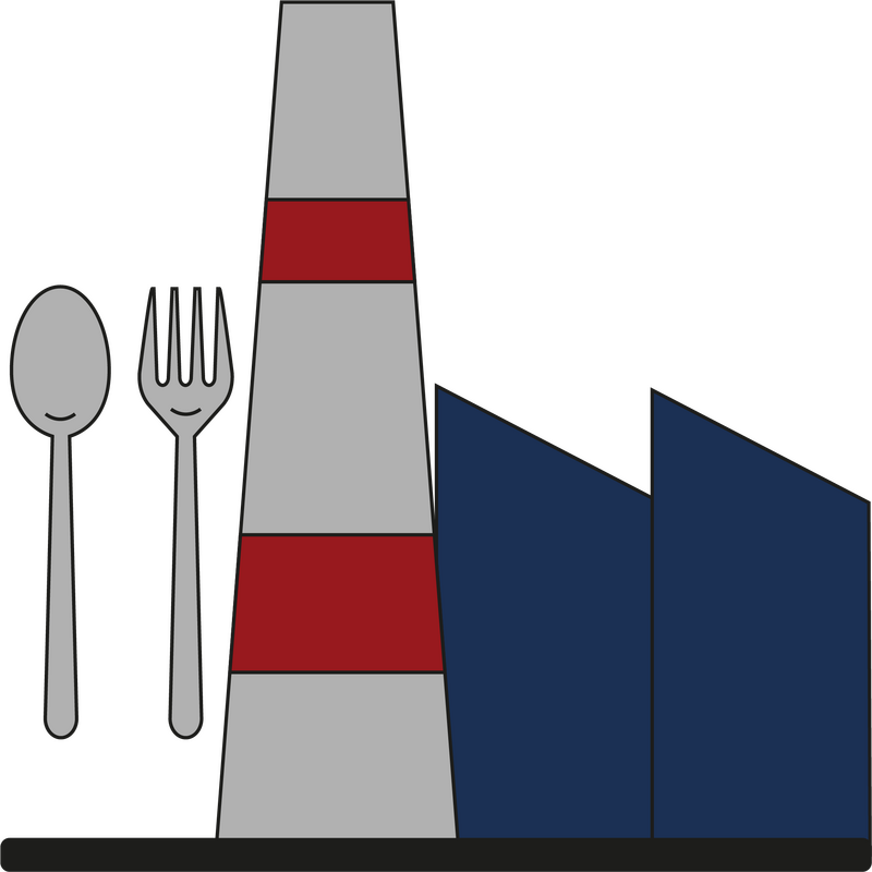 Aktivt kul til fødevareinudstrien - ikon